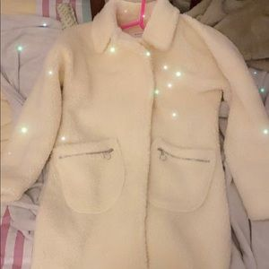 Misguided teddy jacket